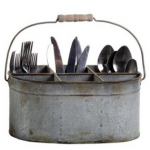 Shabby Chic Silverware Caddy For $36.50 Shipped