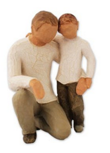 Willow Tree Father & Son Statue