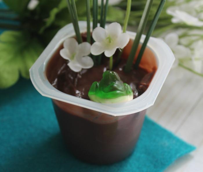 frog pond pudding snack