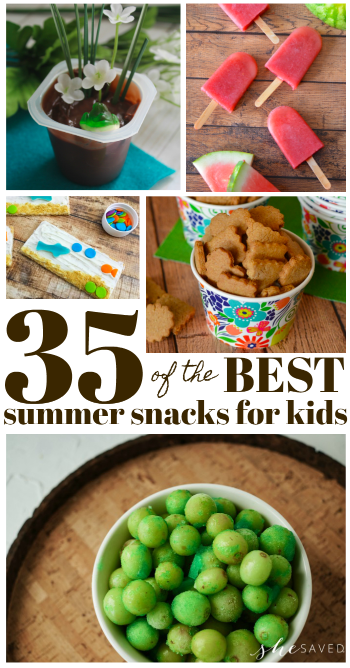 35 of the best summer snack ideas for kids