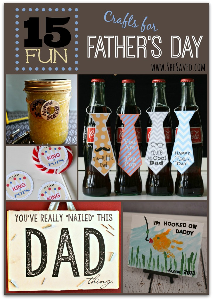 15 Fun Crafts for Father's Day