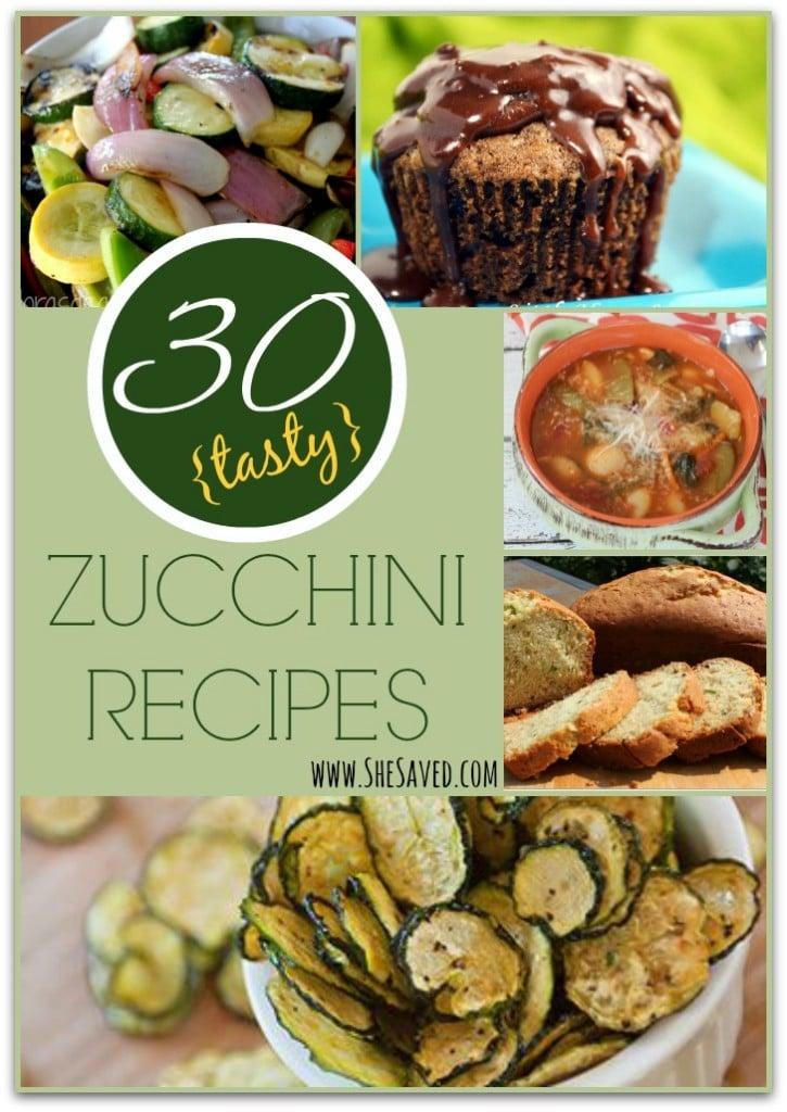 Tasty Zucchini Recipes