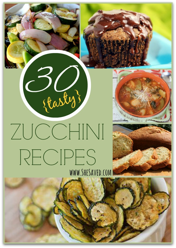 30 Tasty Zucchini Recipes
