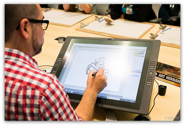 Disney Behind the Scenes: Meet Disney Story Artists Art Hernandez and Lawrence Gong #FireAndRescueEvent