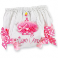 Baby Girl First Birthday Bloomers For $10.99 Shipped