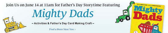 Barnes & Noble Father's Day Storytime