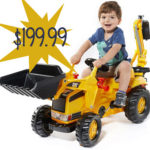 CAT Mini Backhoe-Loader Ride On