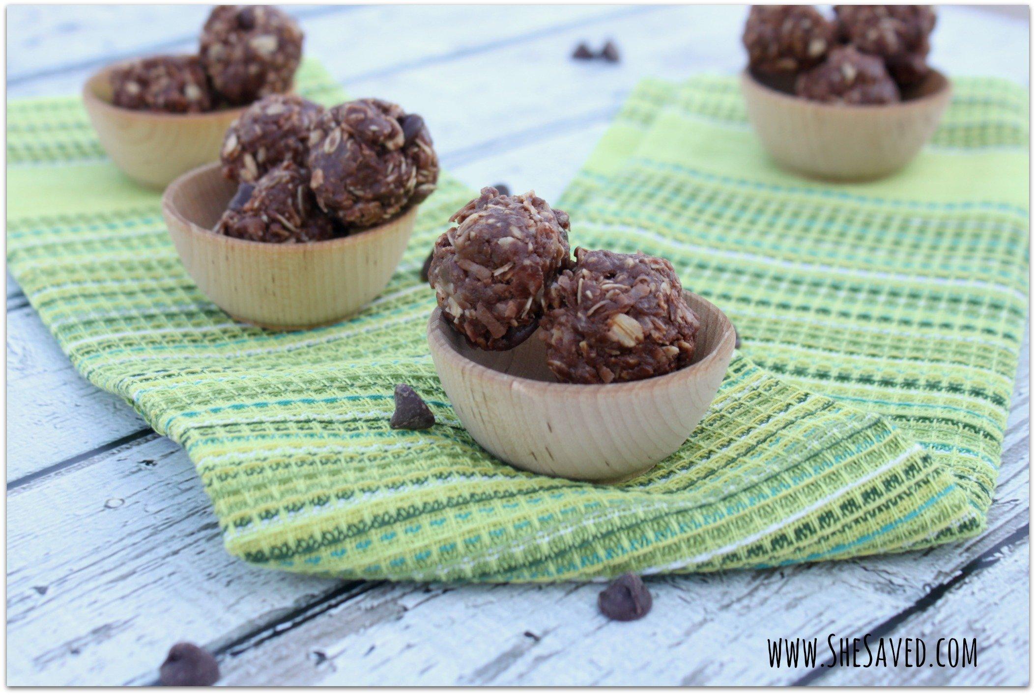 Chocolate Peanut Butter No-Bake Energy Balls Recipe
