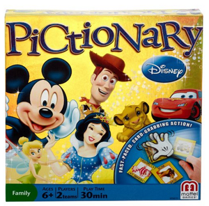 Disney Pictionary Game