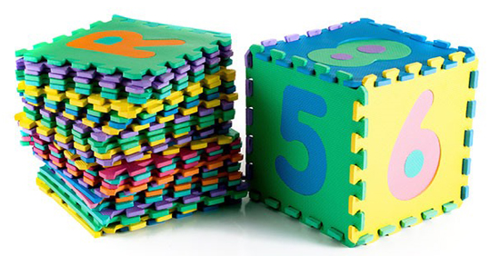 Foam Floor Alphabet And Number Puzzle Mat For 29 99
