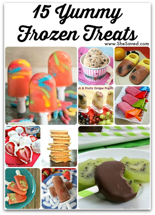 She Shared: 15 Yummy Frozen Treats