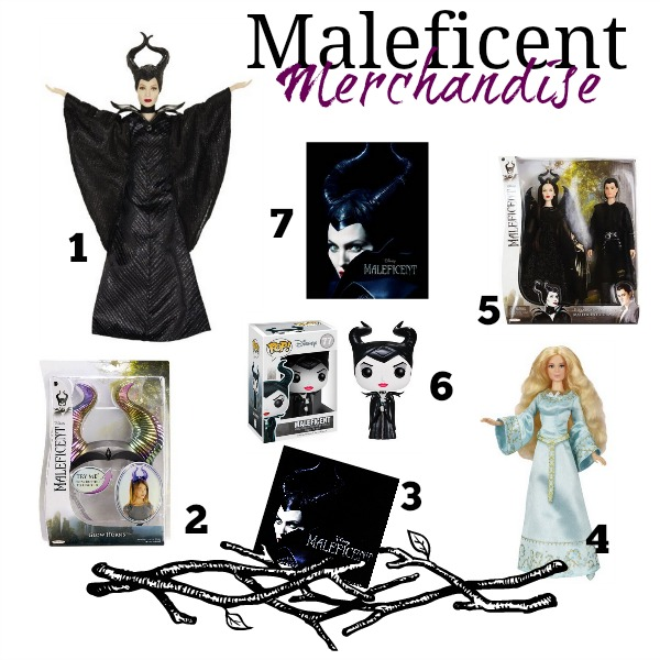 Maleficent Product Collage