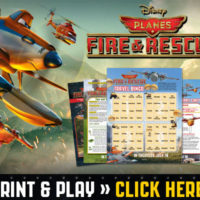 FREE Disney PLANES Fire & Rescue Printable Activity Sheets
