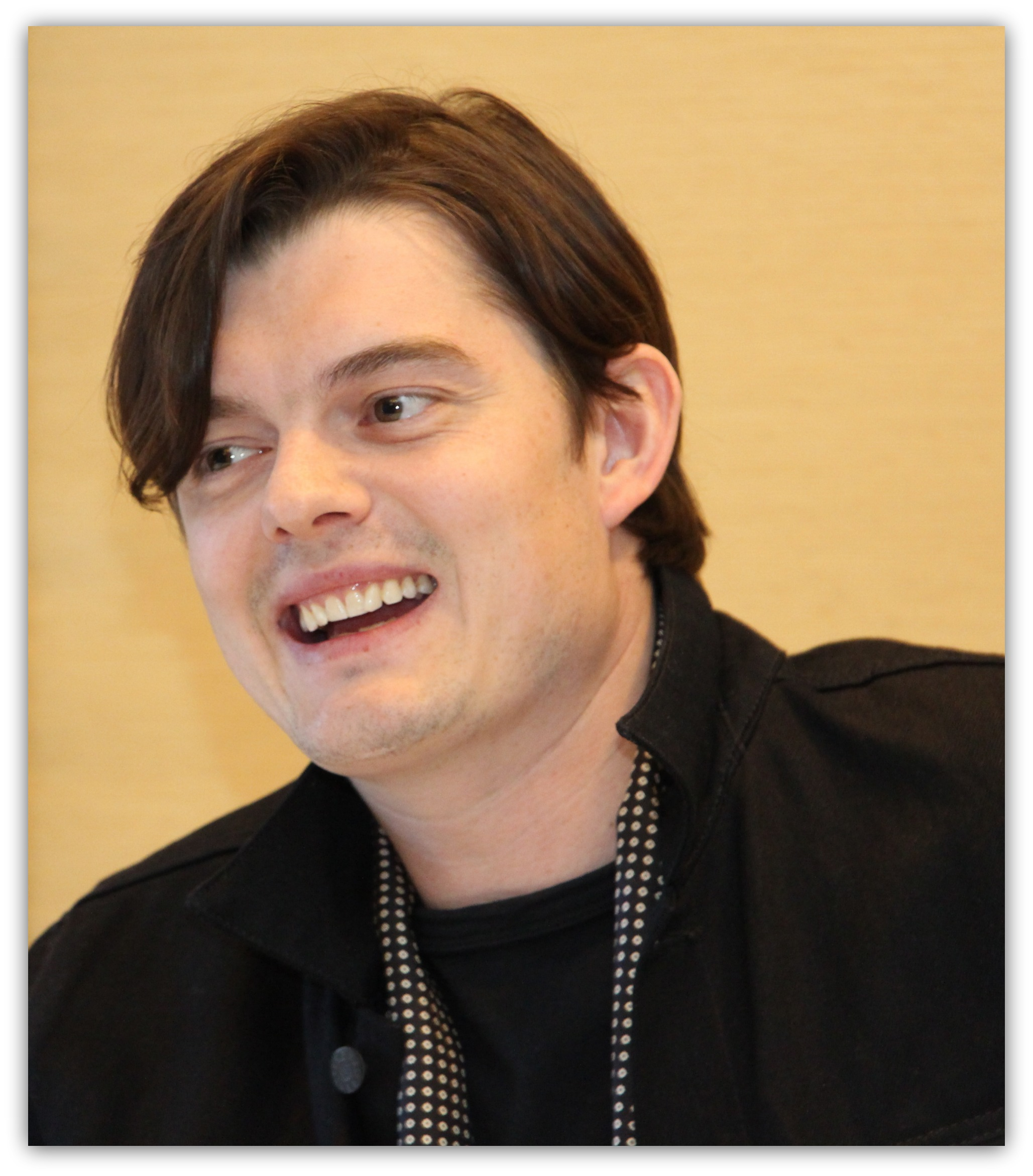 My Interview with Sam Riley AKA the Loyal Diaval #MaleficentEvent