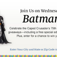 Batman Day At Barnes & Noble