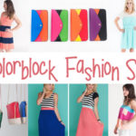 Colorblock Fashion Sale