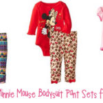 Disney Baby Minnie Mouse Bodysuit Pant Sets
