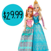 Disney Frozen Royal Sisters Doll Set For $29.99 Shipped