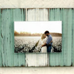 Distressed Bead Board Frames