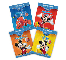 FREE Disney Gummy Vitamins Sample