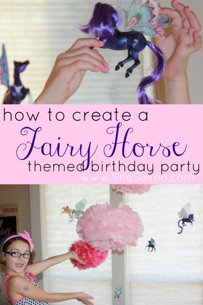If you have a horse lover, then check out my tips for creating a Fairy Horse Birthday Party. So fun and easier than you might think!