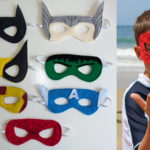 Felt Super Hero Masks
