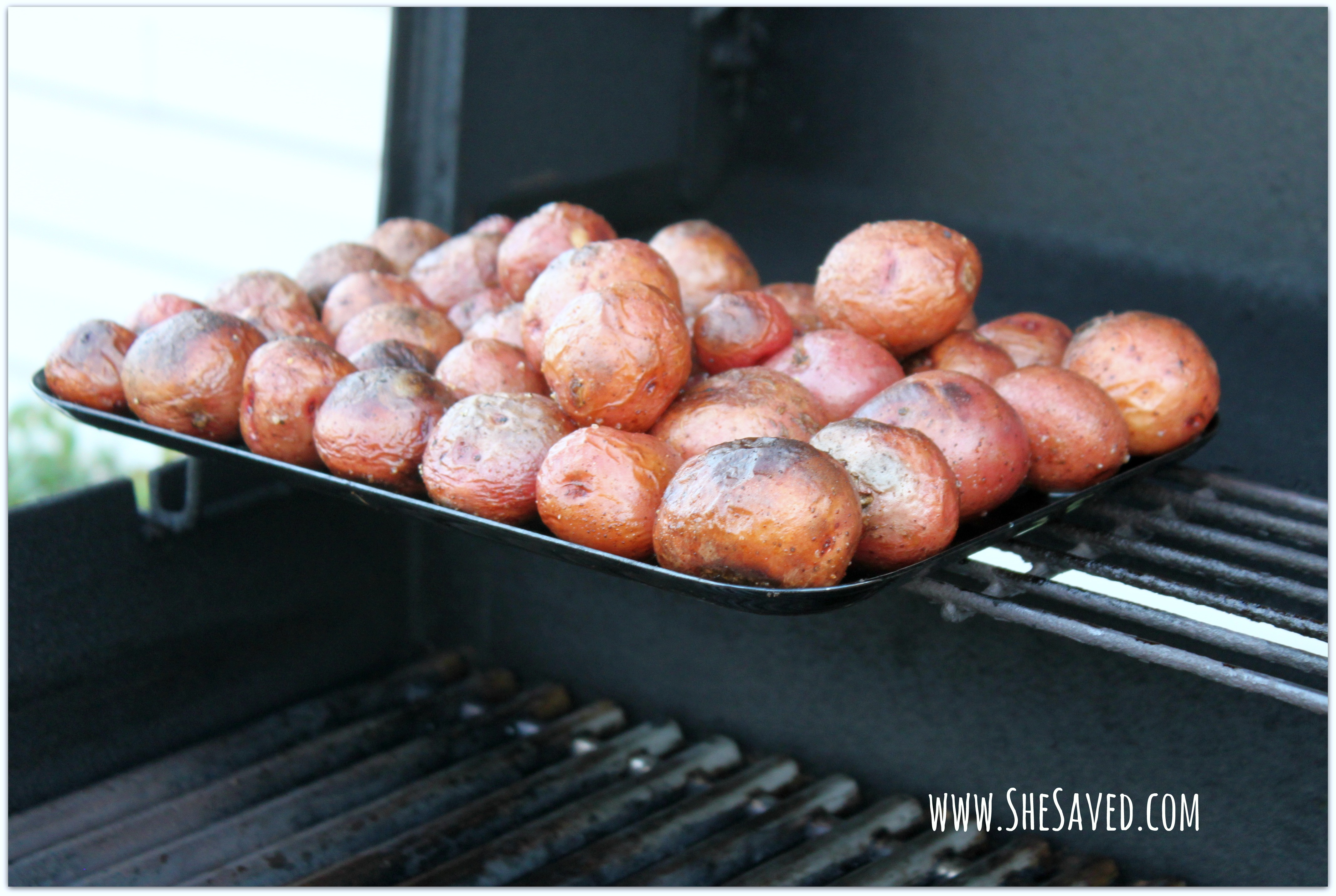 Grill Roasted New Potatoes - SheSaved®