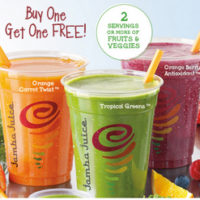 Jamba Juice Buy One Get One FREE