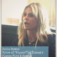 Disney Behind the Scenes: Interviewing Julie Bowen #FireAndRescueEvent