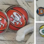 NFL Inspired Earrings