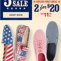 Payless Shoes 4th Of July Sale EXTRA 20% Off Clearance
