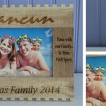 Personalized Vacation Frames