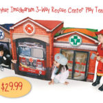 Playhut Imaginarium 3-Way Rescue Center Play Tent