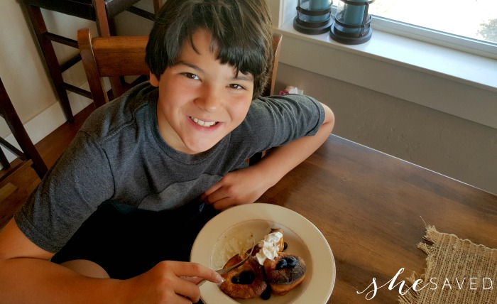 Popover Breakfast