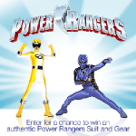 Power Rangers Suit Sweepstakes