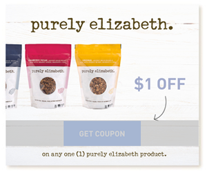 Purely Elizabeth Coupon Save $1 Off