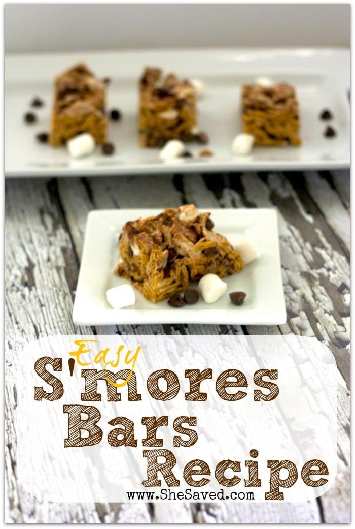 Easy S'mores Bars Recipe