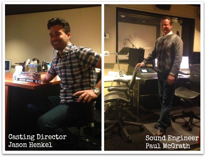 Disney Behind the Scenes: In The Recording Studio Voicing Dipper #FireAndRescueEvent