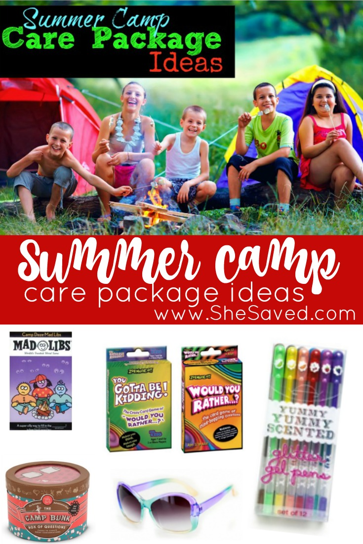 summer camp care package ideas - shesaved®