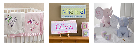 Personalized Baby Shower Gift Ideas