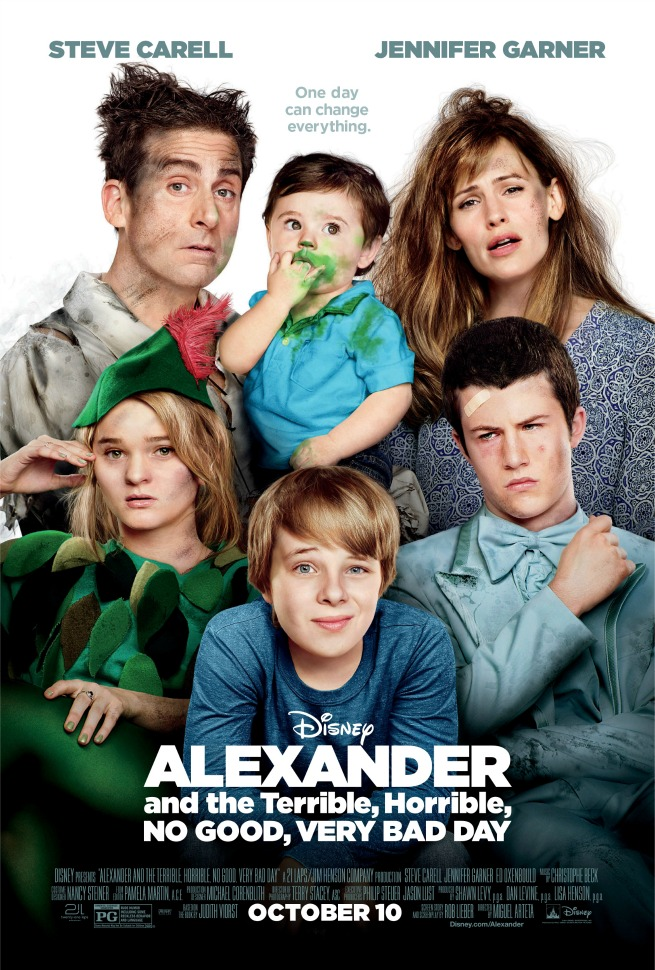 Disney's Alexander and the Terrible, Horrible, No Good, Very Bad Day Posters & Trailer