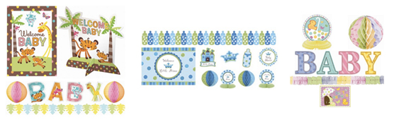 Baby shower gift ideas shesaved for A new little prince baby shower decoration kit
