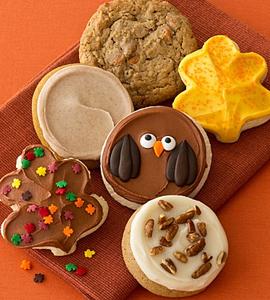 Cheryl's Fall Cookie Sampler