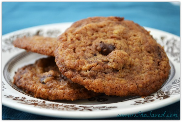 Chocolate Chocolate Chip Cookies 2