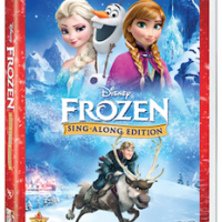 Disney FROZEN Sing-Along Edition on DVD