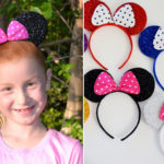 Glitter Mouse Headbands