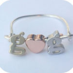 Love Initial Ring