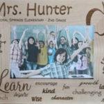Personalized Teacher Frames