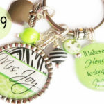 Personalized Teacher Keychains