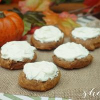 Easy Pumpkin Spice Cookies Recipe with Cream Cheese Frosting